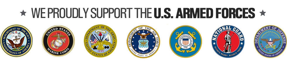 We are proud to support our disabled troops