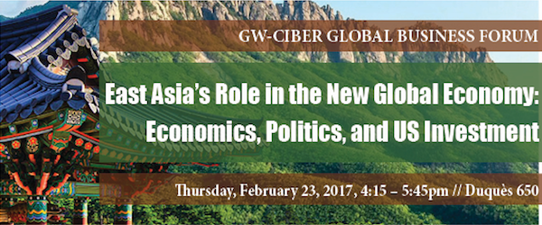 "Henry Yeung's talk ""East Asia's Role in the New Global Economy: Economics, Politics, and US Investment"""