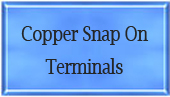 Copper Snap On Terminals