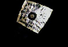 世界初のソーラー電力セイル展開状態の撮像成功!