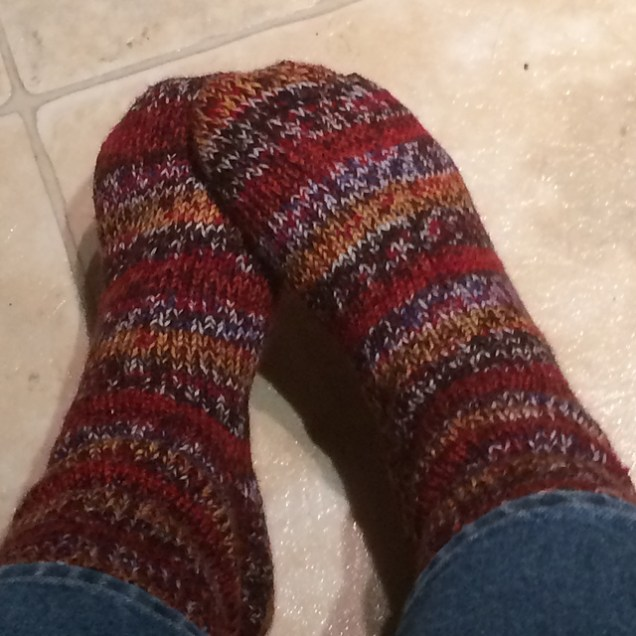 Double-thick socks.