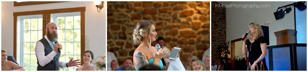 The Barn at Flying Hills Wedding Reception | K. Moss Photography