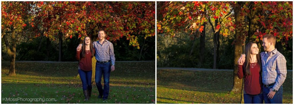 Berks County PA Outdoor Engagement Session   K. Moss Photography