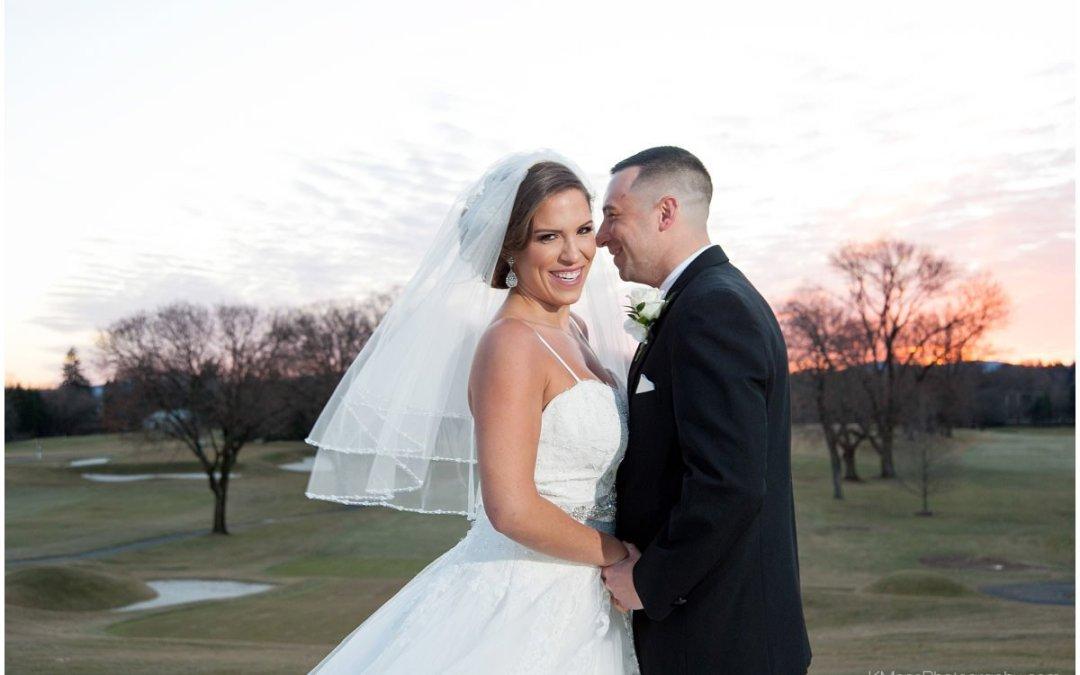 Berkshire Country Club Winter Wedding | Megan & Rich