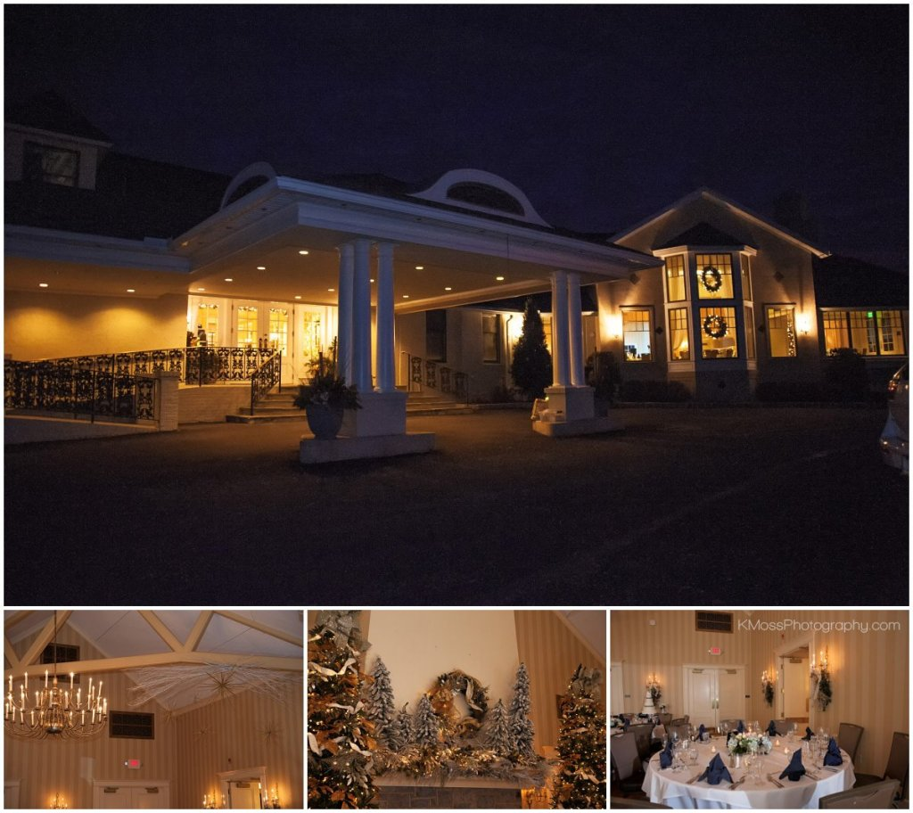 Berkshire Country Club Berks County Winter Wedding | K. Moss Photography