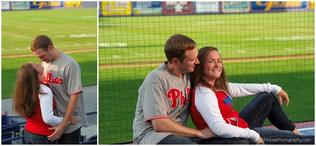 First Energy Stadium Engagement Session | K. Moss Photography