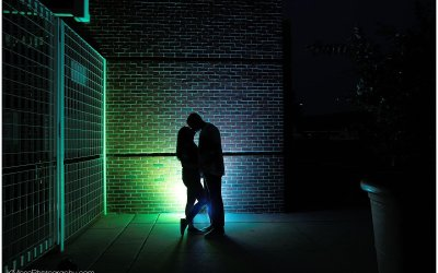 FirstEnergy Stadium Engagement Session | Ashley and Justin