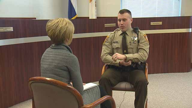 St Louis County Police Officer Shares Harrowing Story Of