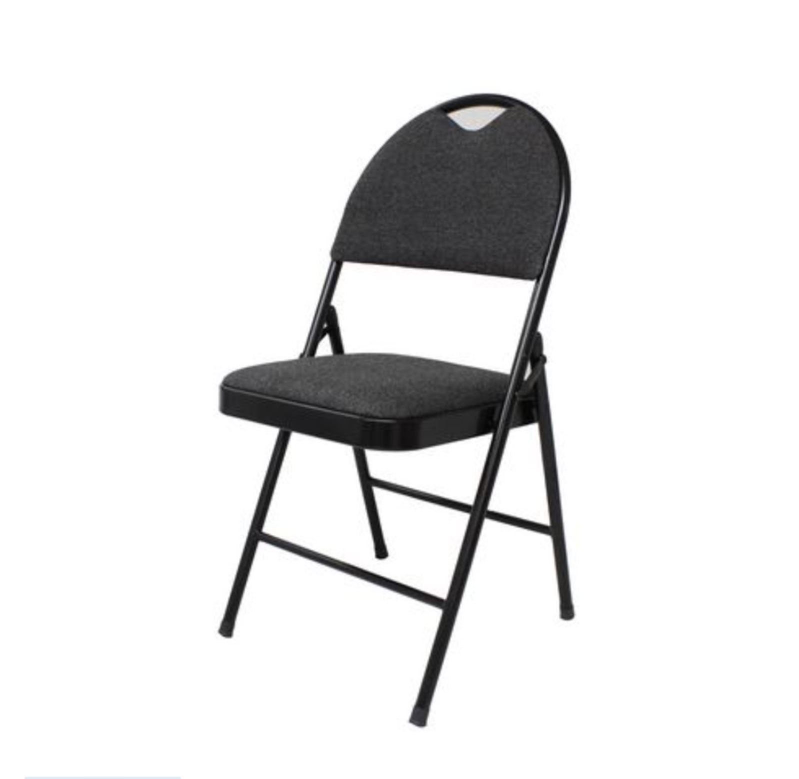 Padded Folding Chairs Black For Rent Km Party Rental