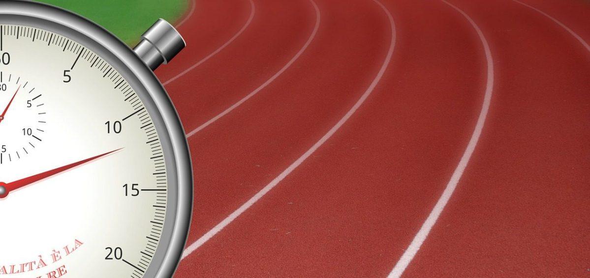 stopwatch, time, treadmill