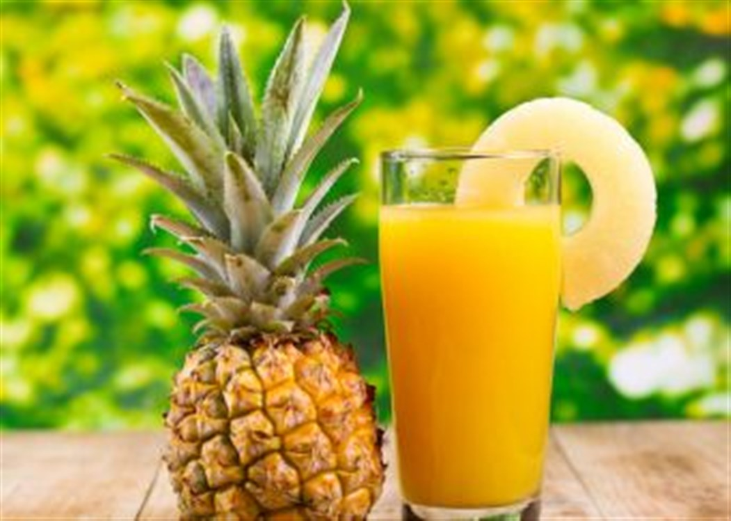 Pineapple Juice Recipe 5 Times More Effective than Cough Syrup