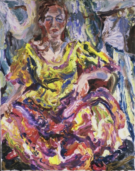 Waiting To Dance, oil by Lorraine Nevers