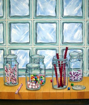 """""""Mason Jars with Candy"""" by Faculty member Doug Schiller"""