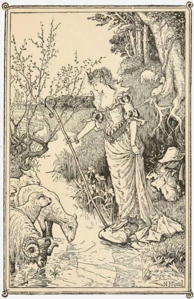 The Princess Who Chased Sheep