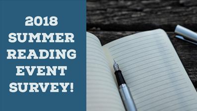 Summer Reading Survey