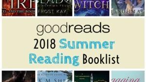 2018 Summer Reading Goodreads List
