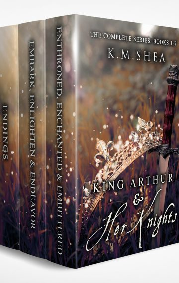 King Arthur and Her Knights: The Complete Series: Books 1-7