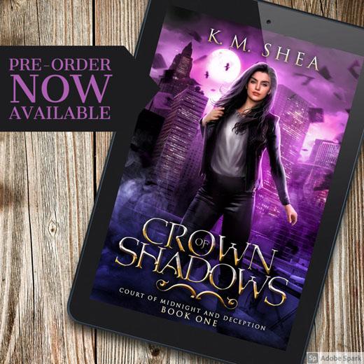 Crown of Shadows Preorder