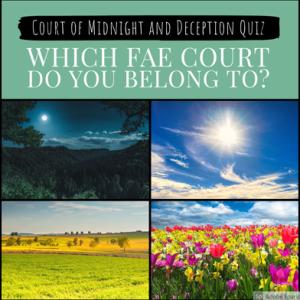 Fae Court Quiz