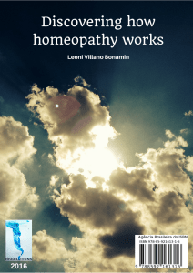 Discovering how homeopathy works