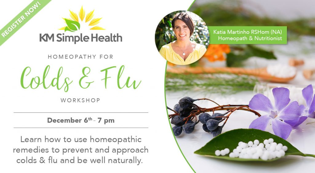 Homeopathy for Colds & Flu Workshop