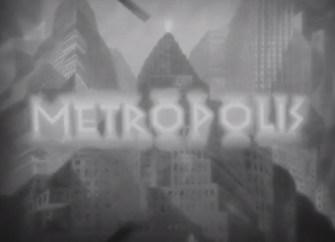 Openingsbeeld Metropolis
