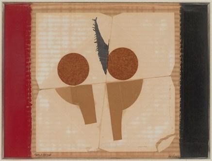 E.L.T. Mesens, Slecht voorteken, 40/1965, Inv. nr. 3052, © Lukas - Art in Flanders VZW / Koninklijk Museum voor Schone Kunsten Antwerpen, foto d/arch