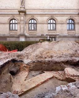 Archeologische vondst: Bastion Fernando. Foto: Karin Borghouts