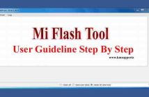 Download Latest Mi Flash Tool & User Guideline