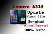 Lenovo A319 Flash File Free & 100% Tested Stock Firmware Rom
