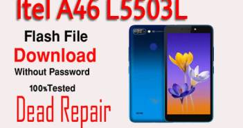 Itel A46 L5503l Firmware ROM download without password