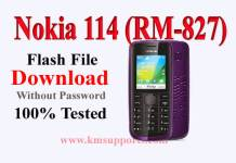Nokia 114 (RM-827) Flash File Download With Flash Tool