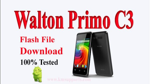 Walton Primo C3 3G Flash File Download Without Password[MT6572]