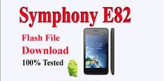 Symphony E82 Flash File Download Without Password & 100% Tested