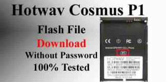 Hotwav Cosmus P1 Flash File Without Password 100% Tested