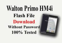 Walton Primo HM4i Flash File Download Without Password/100% Tested ROM