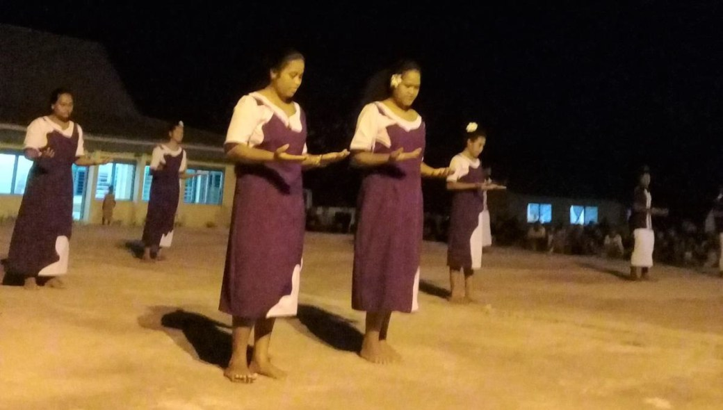 Vaaku youths performing