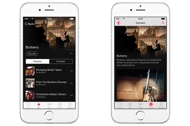 Burberry launches official Apple Music channel