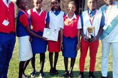First Lady Clar Weah to officially launched the National High school debate competition in Kakata City Margibi County.
