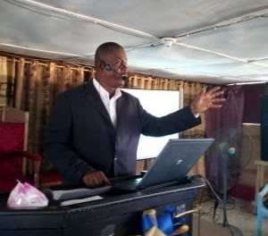Pastor Samuel Nagbe encouraged Liberians to have genuine faith with action.