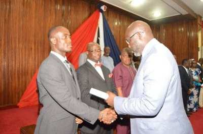 President George Weah commissioned top government officials Thursday, challenged them to do their best