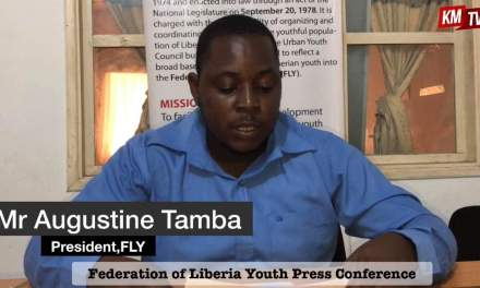 Federation Of Liberian Youth (FLY) Calls On Youth And Students To Desist From Street Protests