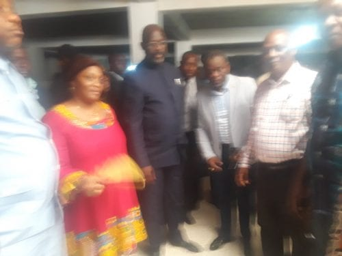 President Weah Tours some Development Projects In Gbarnga Bong County