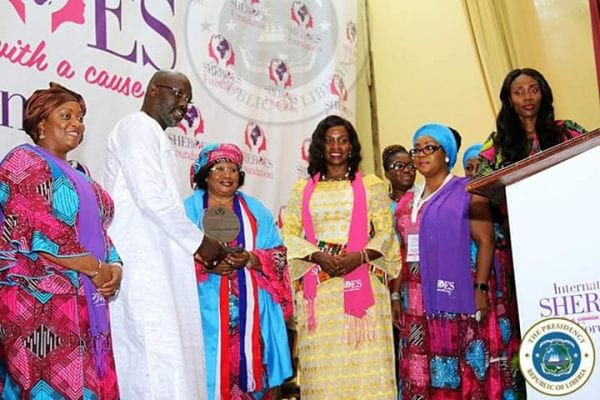 President Weah Declares Himself As Liberia's First Feminist Chief