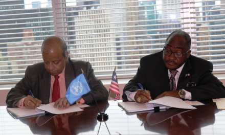 Liberia Signs MOU on Peacekeeping Partnership With UN.
