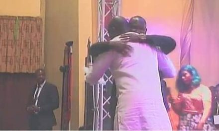 Weah, Debbah Deep Hug, Is It A Sign Of Reconciliation?