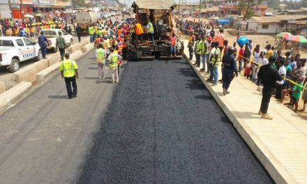 President Weah Concludes One Day Inspection Tour of Road Projects in Montserrado County, Says His Government Remains Focus To Deliver To Its People