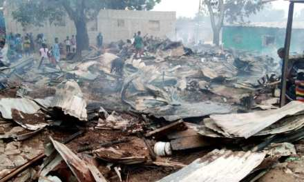 Fire Disaster Leaves Over 25 People Homeless in Old Road Community