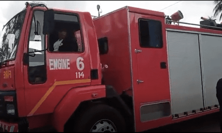 Grand Bassa Gets New Fire Truck