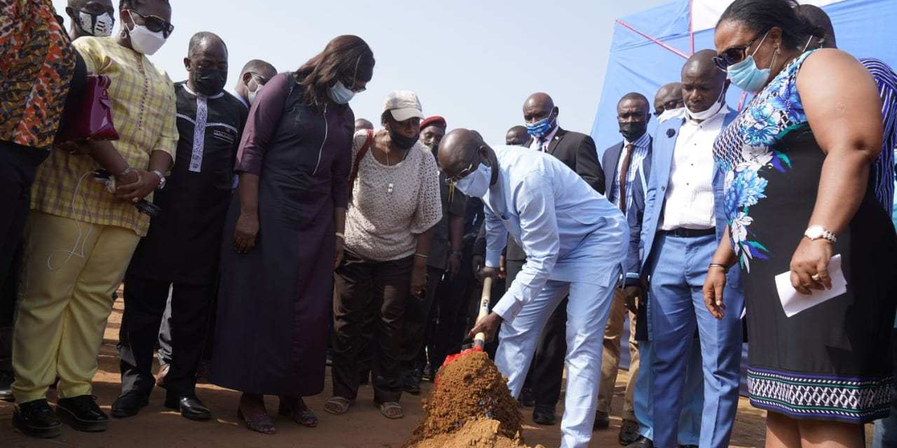 Pres. Weah Supports Multi-Purpose Sports Complex Construction